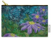 Twilight Clematis Carry-all Pouch