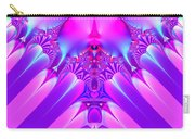 Twilight Descending Fractal Carry-all Pouch