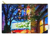 Twilight In Doylestown Borough Carry-all Pouch