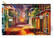 Twilight In New Orleans Carry-all Pouch by Diane Millsap