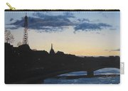 Twilight In Paris Carry-all Pouch