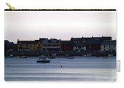 Twilight In The Harbor At Skerries Carry-all Pouch