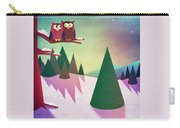 Twilight In The Woods Carry-all Pouch