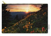 Twilight Of The Balsamroot Carry-all Pouch