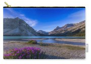 Twilight On Bow Lake, Banff National Carry-all Pouch