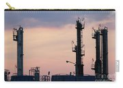 Twilight Over Petrochemical Plant Carry-all Pouch