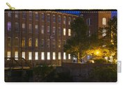 Twilight Over The Cocheco Mills Dover New Hampshire Carry-all Pouch
