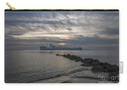 Twilight Steaming Into Charleston Harbor Carry-all Pouch