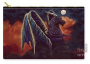 Twilight Storm Dragon Carry-all Pouch