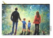 Twilight Walk Family Two Sons Carry-all Pouch