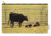 Twin Calves Carry-all Pouch