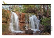 Twin Falls At Ironstone Gully Carry-all Pouch