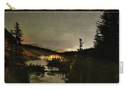 Twin Lakes Night Panorama Carry-all Pouch