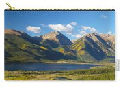Twin Lakes/twin Peaks Colorado Fall Carry-all Pouch