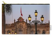 Twin Lamp Posts Carry-all Pouch