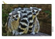 Twin Lemurs Carry-all Pouch