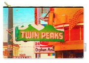 Twin Peaks Gay Bar In San Francisco . Painterly Style Carry-all Pouch