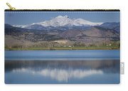 Twin Peaks Mccall Reservoir Reflection Carry-all Pouch by James BO  Insogna