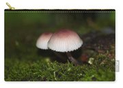 Twin Peaks - Pink And White Mushroom Duo Carry-all Pouch