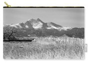 Twin Peaks Rustic Fence Carry-all Pouch