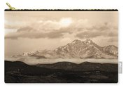 Twin Peaks Sepia Panorama Carry-all Pouch