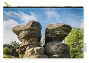 Twin Rocks At Brimham Carry-all Pouch