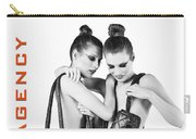 Twins Model Agency Carry-all Pouch by ISAW Company