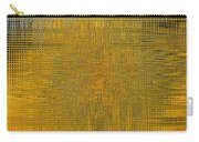Twirl Art Yellow  Carry-all Pouch