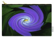 Twirling Flower Pedals Carry-all Pouch