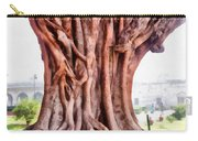 Twisted Gnarled Tree Carry-all Pouch
