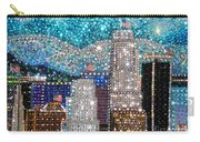 Los Angeles. Rhinestone Mosaic Beadwork Mix Carry-all Pouch