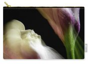Twisting Cala Lily Two Carry-all Pouch