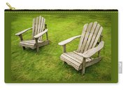 Two Adirondack Chairs Carry-all Pouch