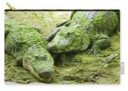 Two Alligators Carry-all Pouch