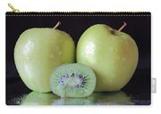Two Apples And A Kiwi Carry-all Pouch