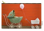 Two Baby Buggies  Carry-all Pouch