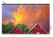 Two Barns At Sunset Carry-all Pouch