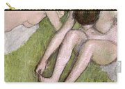 Two Bathers On The Grass Carry-all Pouch