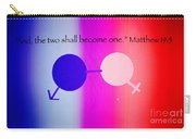 Two Become One Carry-all Pouch by Raul Diaz