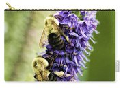 Salvia With Bees Carry-all Pouch