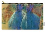 Two Blue Dancers Carry-all Pouch