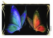 Two Butterflys -4 Carry-all Pouch