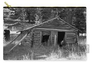 Two Cabins One Outhouse Carry-all Pouch