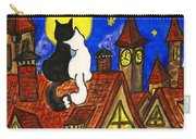 Two Cats On The Roof Carry-all Pouch