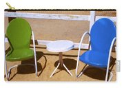 Two Chairs Carry-all Pouch