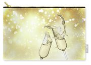 Toast Champagne Glasses Carry-all Pouch