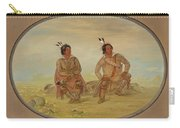 Two Choctaw Indians Carry-all Pouch
