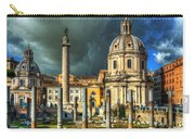 Two Churches And Columns Carry-all Pouch