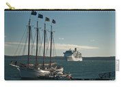 Two Cruise Ships Carry-all Pouch