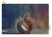 Two Dimensional Apple Carry-all Pouch